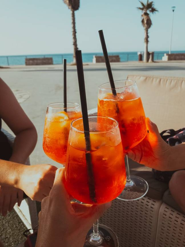 26 degrees? We'll cheers to that! (Credit: Unsplash)