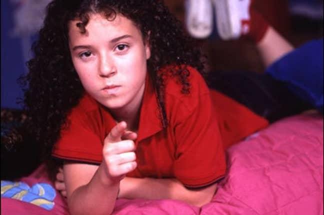 A young Dani Harmer at Tracy Beaker. (Credit: BBC)