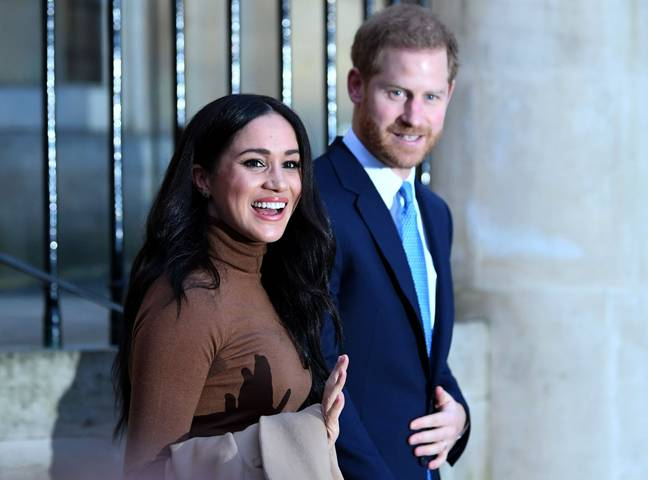 The couple pictured in London earlier this year (Credit: PA)