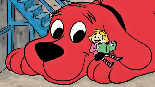 Clifford the Big Red Dog starred in his very own cartoon between 2000-2003 (Credit: Scholastic Productions)