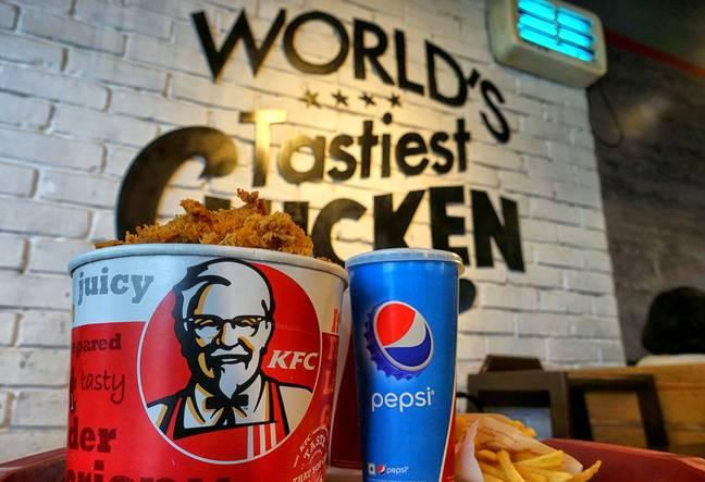 The crisps double up as vouchers for the fast-food chain (Credit: PA)