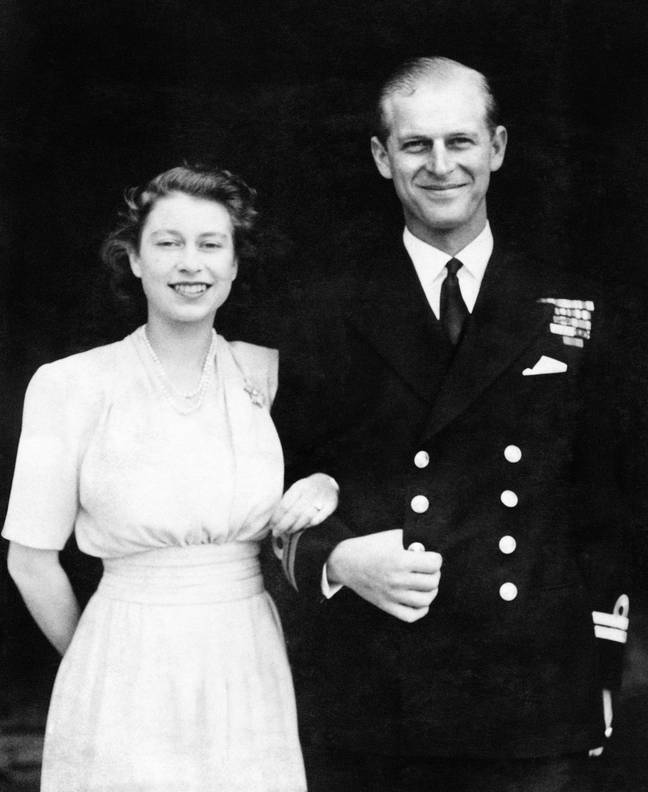 The Queen and Prince Phillip were married in November 1947 (Credit: PA)
