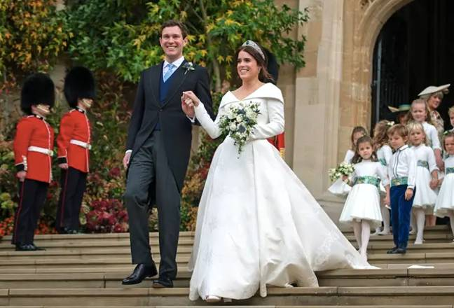 The Queen's granddaughter married in 2018 (Credit: PA)
