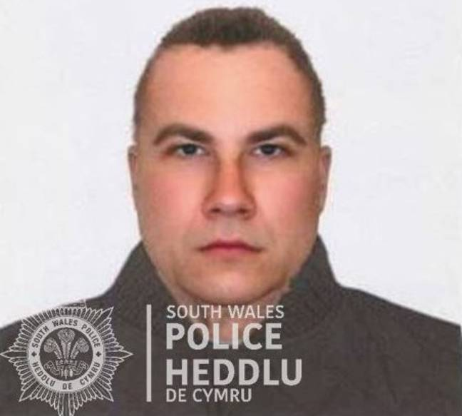 It's uncanny how much the suspect looks like David (Credit: South Wales Police)