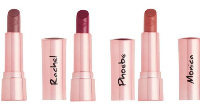 The collection features three lipsticks (Credit: Revolution Beauty)