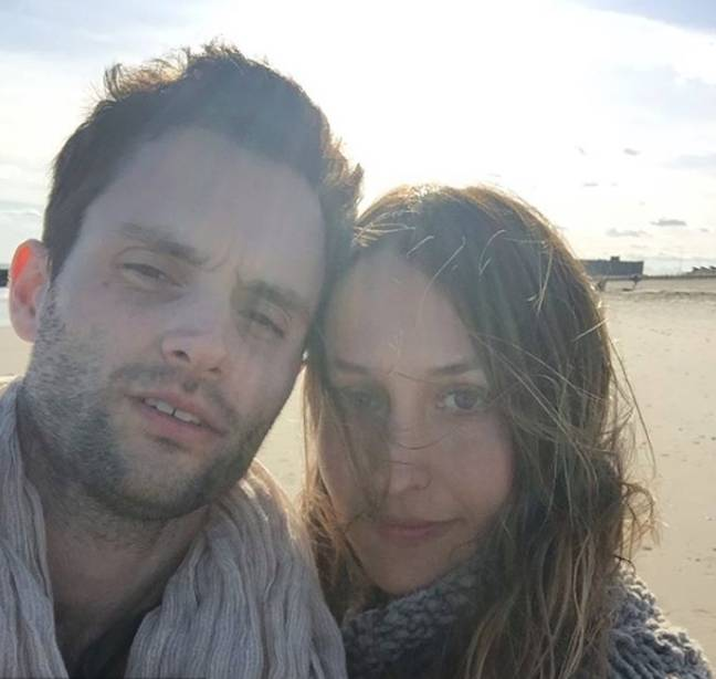 Penn Badgley and Domino Kirke got married in 2017 (Credit: Instagram/ Domino Kirke)