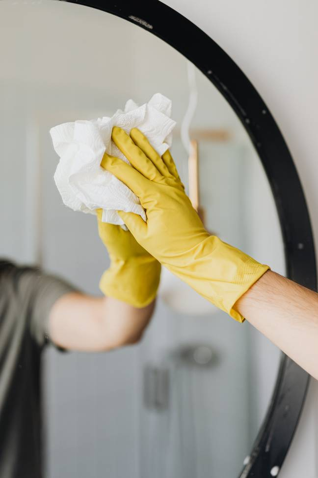 Men are doing more house work now than ever before (Credit: Pexels)