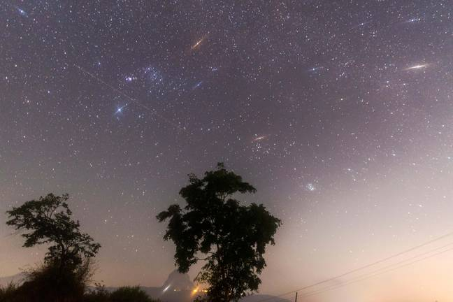 The dazzling display of stars will be seen on Sunday night into Monday morning (Credit: Shutterstock)