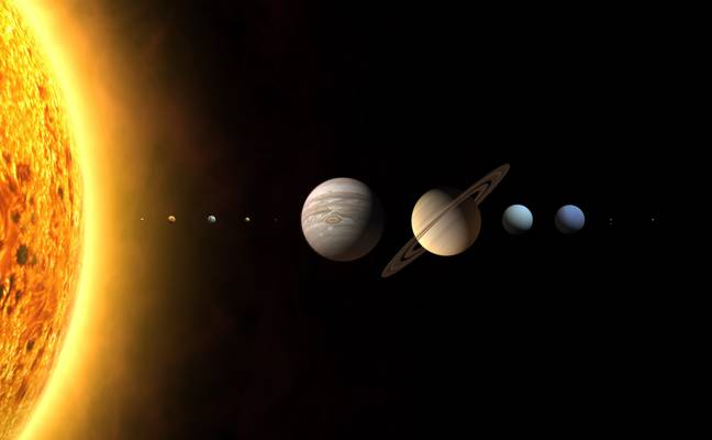 Mercury is the innermost planet in our solar system. (Credit: PA)