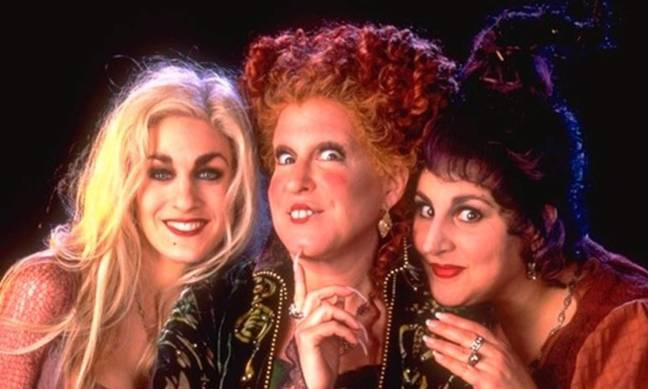 The Sanderson sisters will return in the highly anticipated sequel (Credit: Walt Disney Pictures)