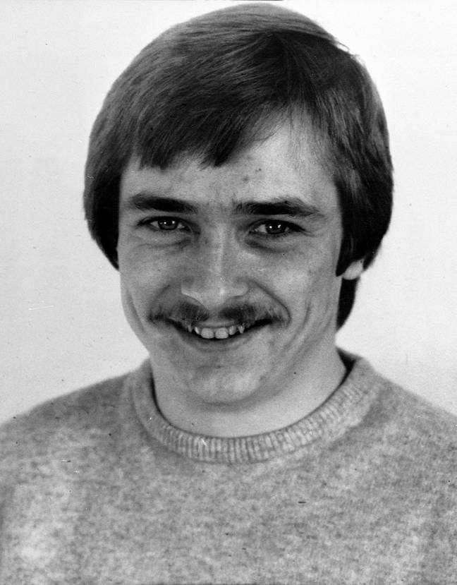 Russell Bishop pictured in 1987 (Credit: PA)