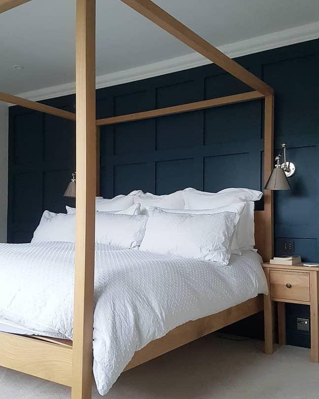 Just look at the master bedroom! (Credit: Instagram / @renovationhq)