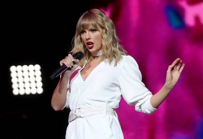 The singer announced the upcoming doc last November, during her ongoing feud with involves record exec Scooter Braun and co-founder of Taylor's former label, Scott Borchetta (Credit: PA Images)