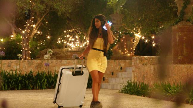 Shannon was dumped during Wednesday's episode (Credit: ITV)