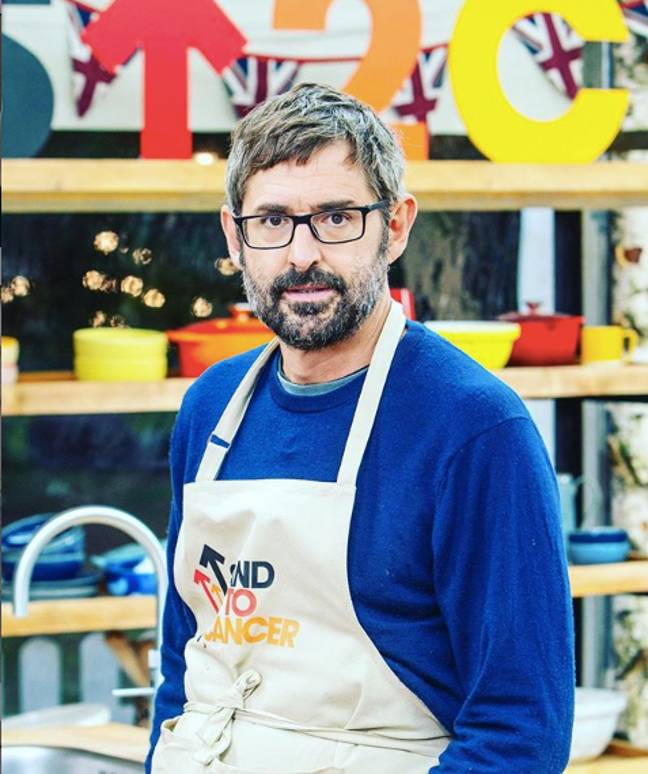 Louis Theroux is trying his hand at cooking (Credit: Channel 4)