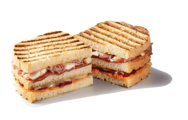 The Friends-inspired Gravy Layer Sandwich (Credit: Starbucks)