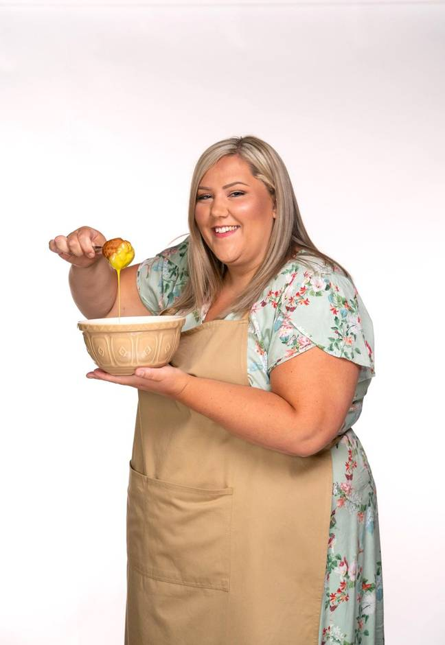 Digital manager Laura says she bakes from the heart (Credit: Channel 4)