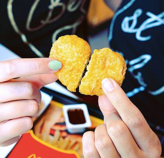 The hot launch is a take on the much loved classic nuggets (Credit: McDonald's)