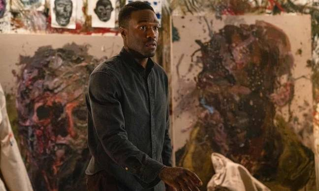 Yahya Abdul-Mateen II plays artist Anthony McCoy (Credit: Universal Pictures)