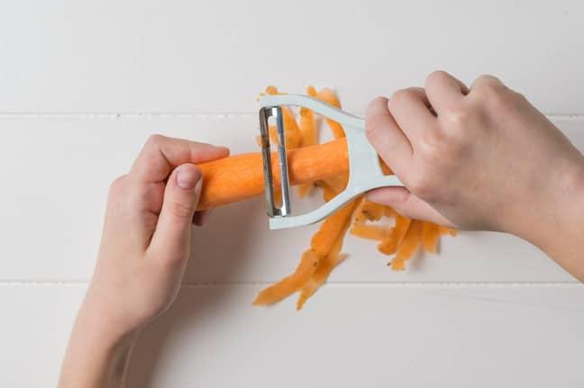 Peeling veg has never looked easier (Credit: Shutterstock)
