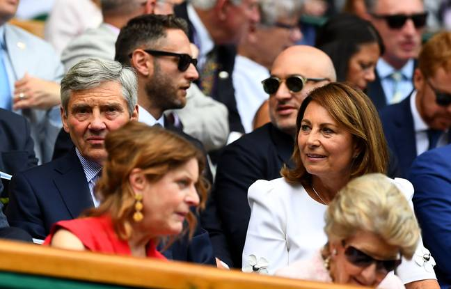 Carole and Michael Middleton at the Wimbledon championships in 2019 (Credit: PA)