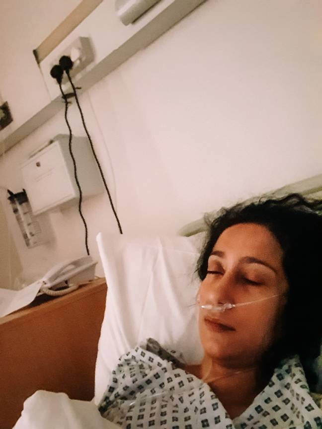 While they were looking into endometriosis, they found I had breast cancer (Credit: Atima Bhatnagar)