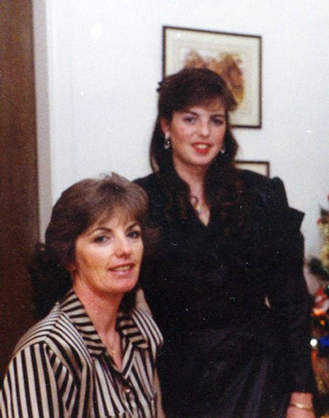 Helen pictured with her mother Marie McCourt (Credit: Crime + Investigation)