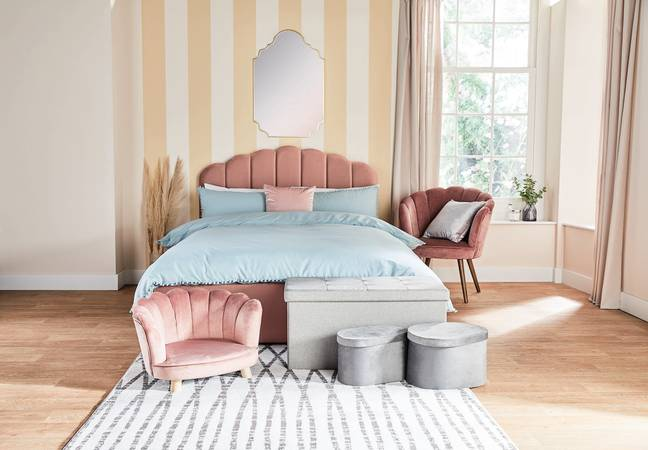 The stylish beds would look amazing in any bedroom (Credit: Aldi)