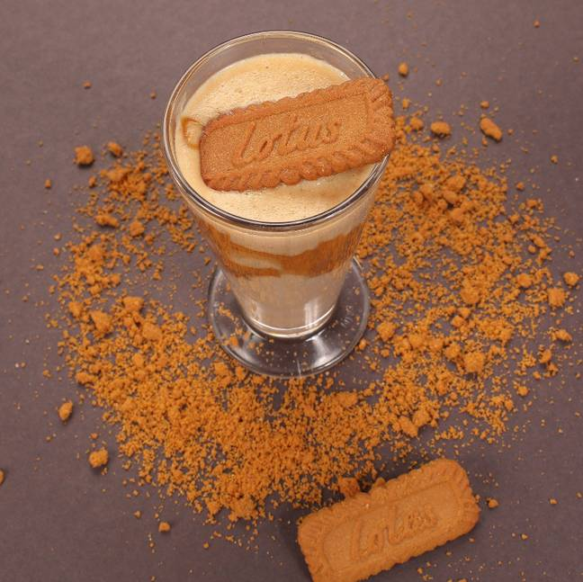 Many versions top with a classic Biscoff biscuit (Credit: Shutterstock)