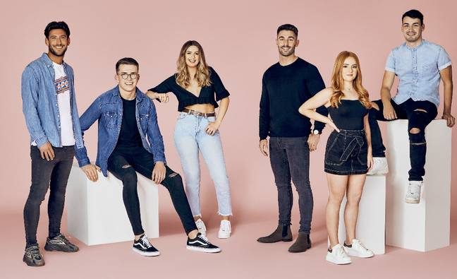 From left to right: 19) Graham, 20) Shane, 21) Mia, 22) Éanna, 23) Chloe R 24) Danny Credit: Cosmopolitan/Tinder