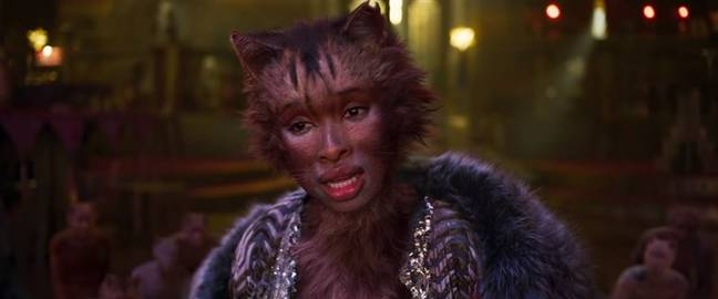 They're showing the big screen adaptation of 'Cats'. (Credit: Universal Pictures)