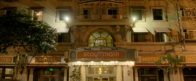 The hotel is home to a number of mysteries (Credit: Netflix)
