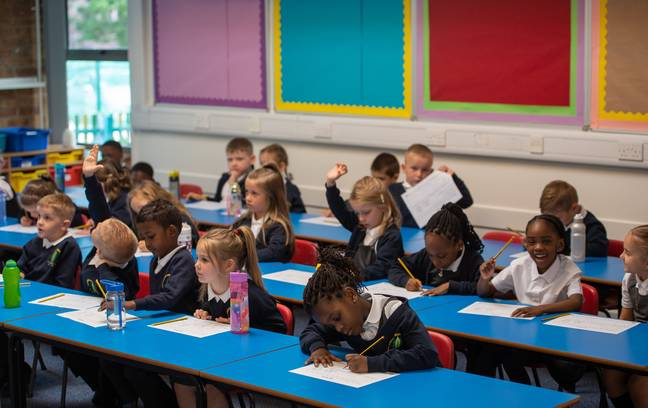 Pupils returned to classrooms earlier this month (Credit: PA)