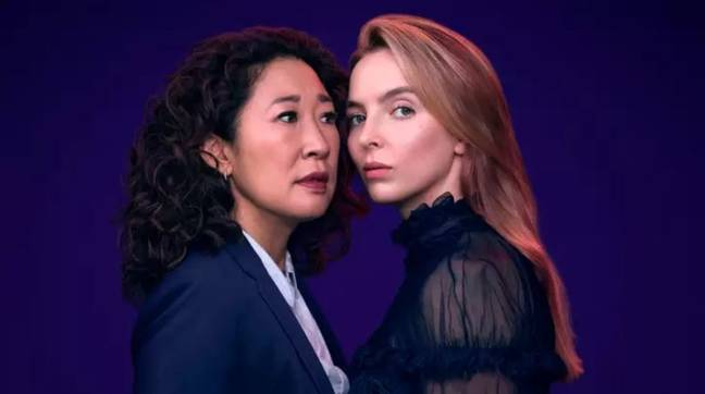 Killing Eve is available to binge-watch too (Credit: BBC)
