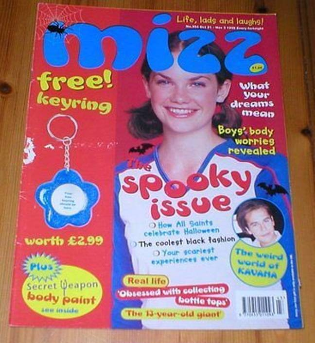 Ruth Wilson modelled on the magazine in 1998