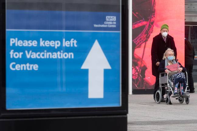 The Excel Centre Nightingale Hospital is one of hubs around the UK administering mass vaccination jabs (Credit: PA)