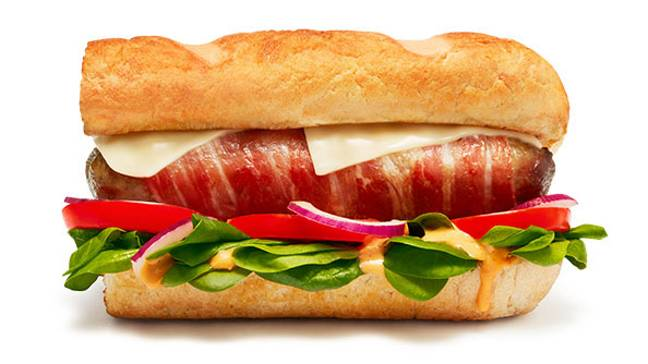 The Tiger Pig Sub also comes in six inch and foot long varieties (Credit: Subway)