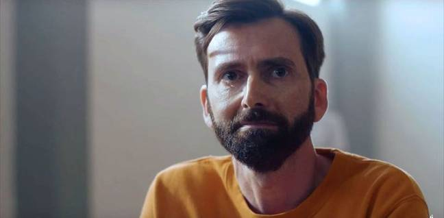 David Tennant plays local GP Tom Kendrick in the drama (Credit: Channel 4)