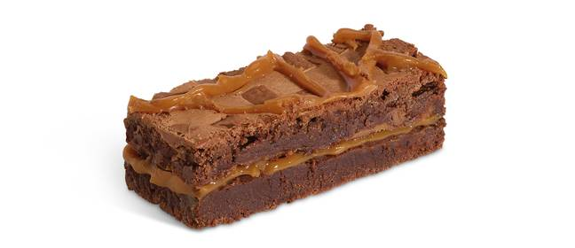 The Salted Caramel Brownie is new on the menu this spring (Credit: Costa)