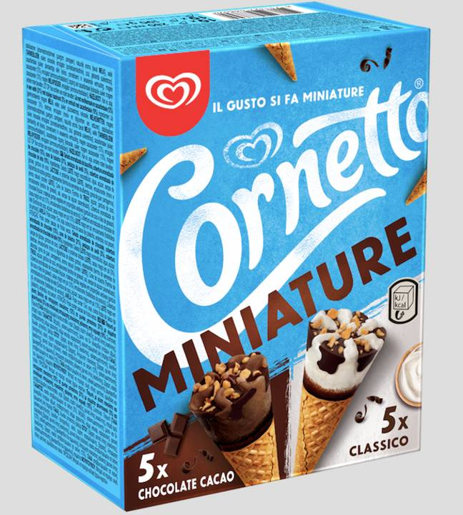 Just one Cornetto? More like 10 mini ones, please (Credit: Walls)