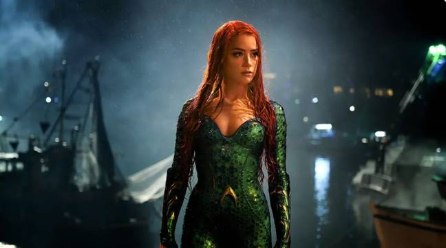 Amber is currently filming Aquaman and the Lost Kingdom (Credit: Warner Bros.)
