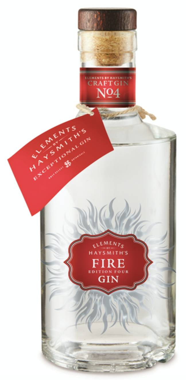 The 'Fire' gin comes with a kick (Credit: Aldi)
