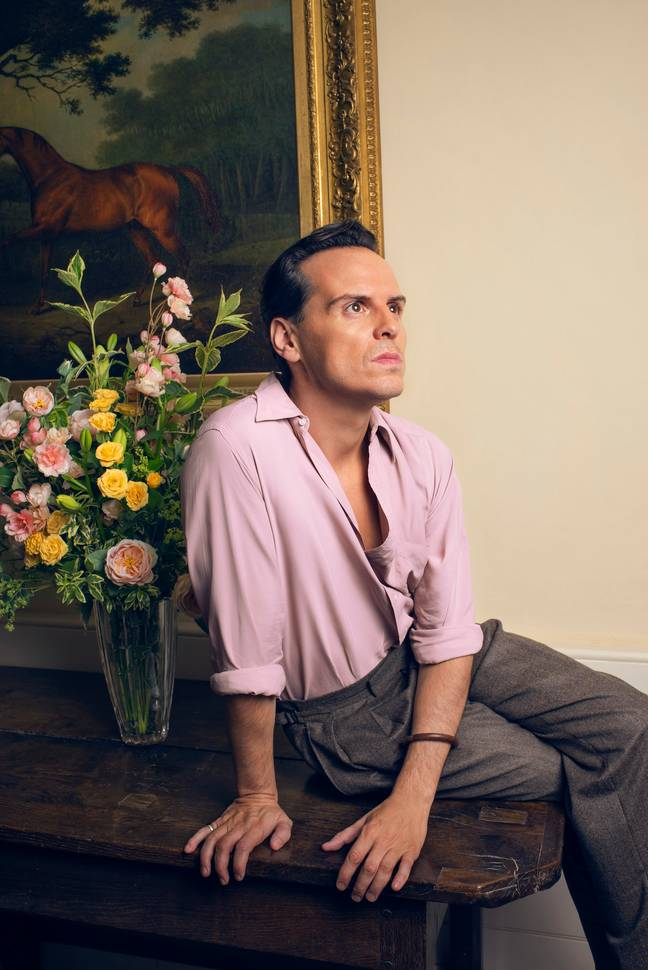Expect more sexy scenes from Andrew Scott (Credit: BBC)