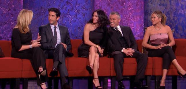 The cast convened without Matthew Perry back in 2016 Credit: NBC