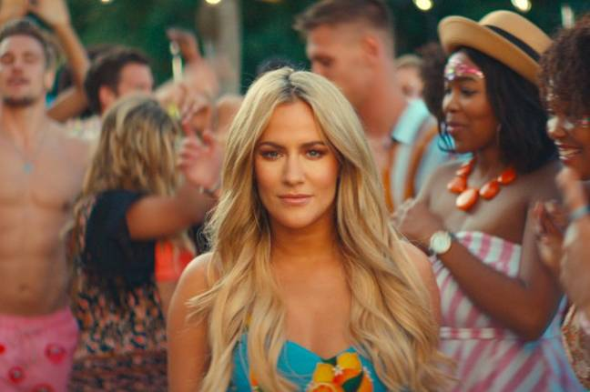Caroline Flack has stepped down from Winter Love Island whilst she deals with legal charges against her (Credit: ITV)