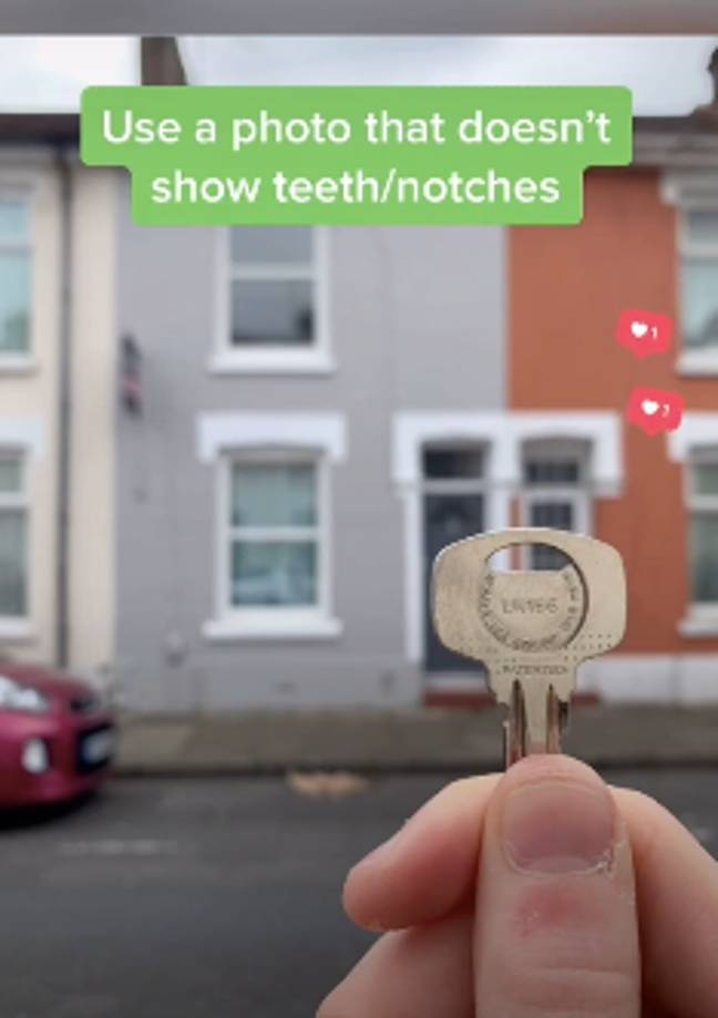 This is a better way to show off your keys (Credit: TikTok/ @thatpropertyguy)