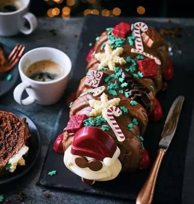 Colin the Caterpillar has a festive makeover for Christmas (Credit: M&S)