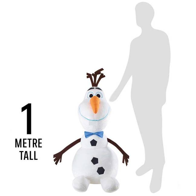 Iceland's 1-meter tall Olaf is the biggest sold in the UK (Credit: Iceland)