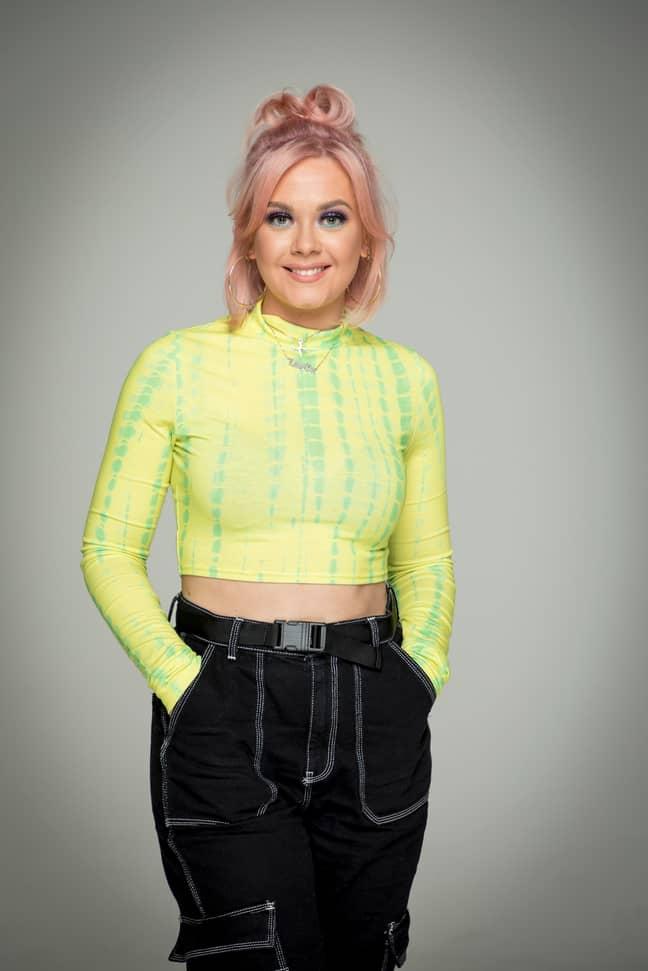 Eve, 23, Salon Makeup Artist (Credit: BBC)