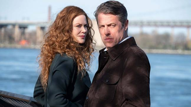 Nicole Kidman and Hugh Grant in The Undoing (Credit: HBO)